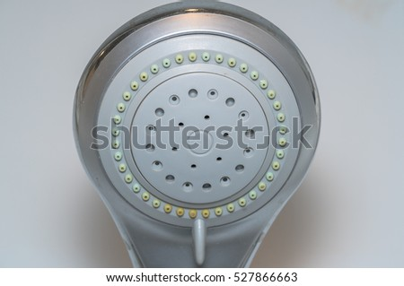 Chrome shower head
