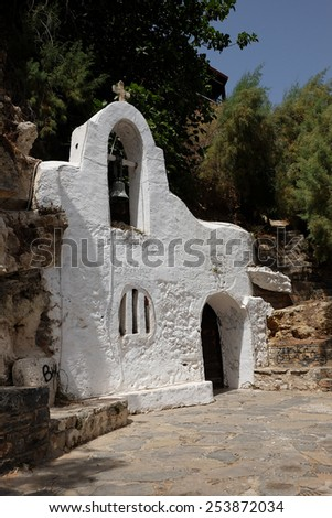 Church Agios Nikolaos on Crete island in Greece