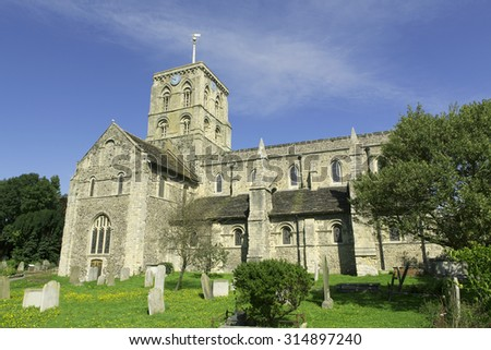Church at Shoreham-by-the-sea in West Sussex