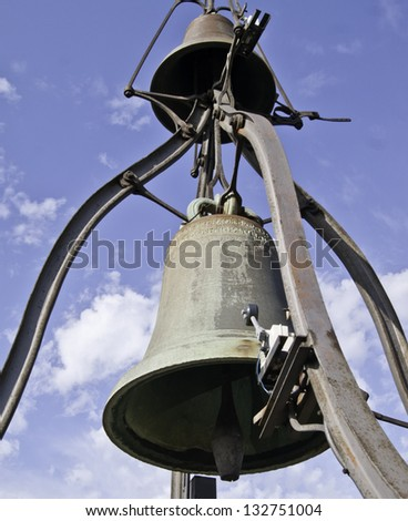 Church bell, Orvieto. Italy