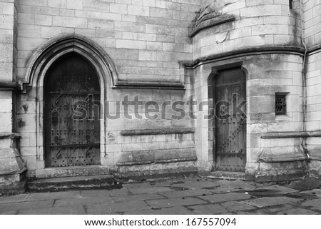Church doorways