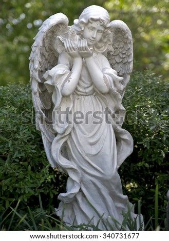 Church Garden Angel