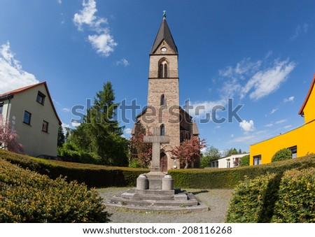 Church in Bad Suderode Harz, Germany