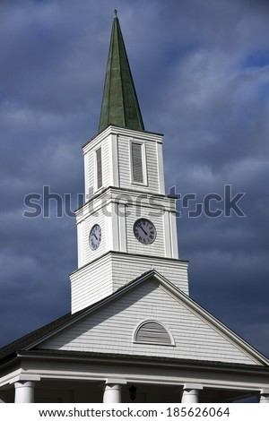 Church in downtown of Tallahassee, Florida, USA - stock photo