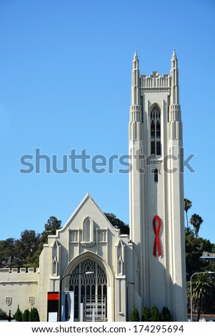 Church in Hollywood - stock photo