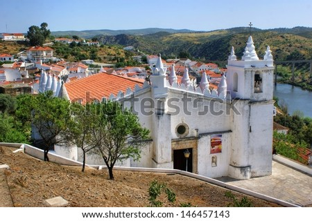 church in Mertola, south of Portugal