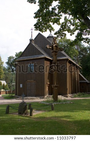 Church in Paluse, Lithuania