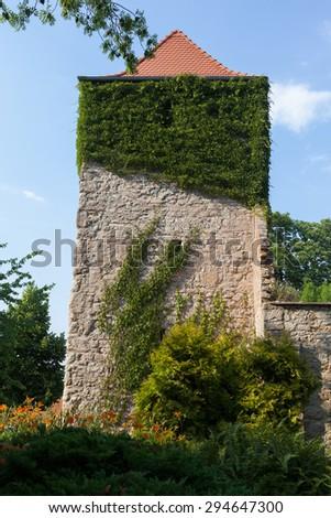 church in Wedderstedt - stock photo