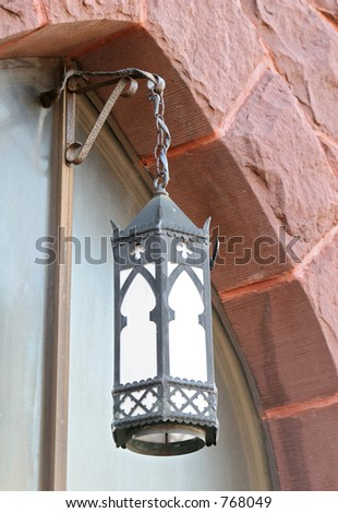 Church lantern - stock photo