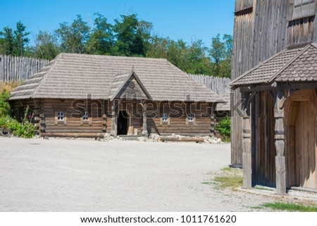 Church, Museum of Zaporizhian Cossacks, Khortytsia, The largest island in the River Dnieper