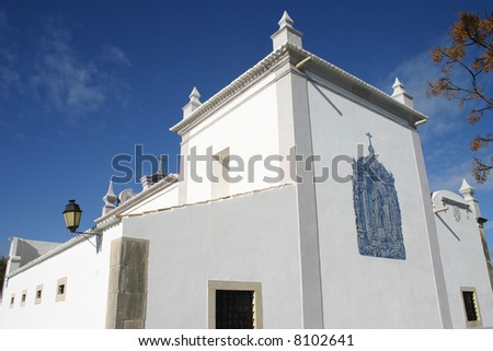 church near almansil (portugal)
