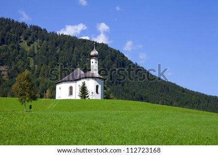 Church of Achenkirch in Austria
