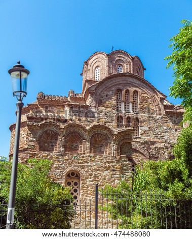 Church of Agios Panteleimon, Thessaloniki, Macedonia, Greece