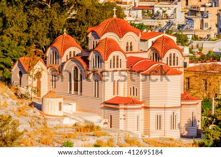 Church of Athens, the capital of Greece.