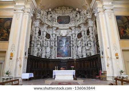 Church of Jesus. Lecce. Puglia. Italy. - stock photo