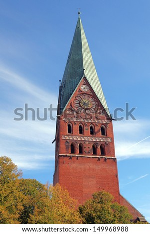 Church of John the Baptist in Lueneburg, Germany