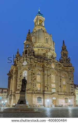 Church of our Lady in Dresden, Germany