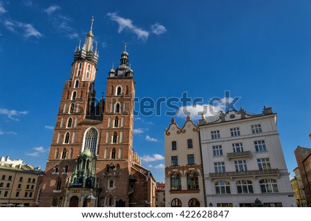 Church of our lady in Krakow