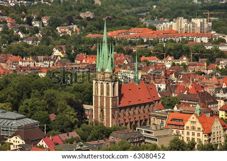 Church of Our Lady of Ulm - stock photo