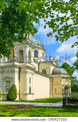Church of Saint Anne in Wilanow, Warsaw, Poland