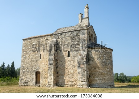 Church of Saint-Laurent (Gard, Languedoc-Roussillon, France), medieval building