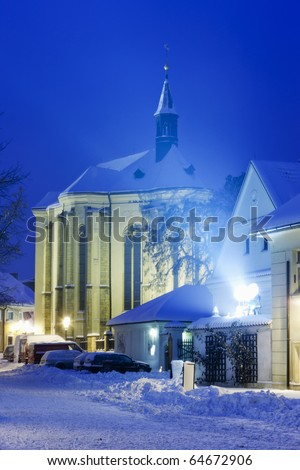 Church of Saint Roch, Prague, Czech Republic - stock photo