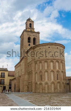 church of Santa Mar���­a la Mayor , Arevalo, Spain