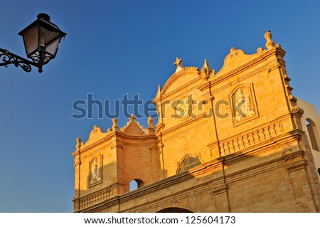 Church of Santa Maria della Purit�  in Gallipoli, Apulia. Italy.