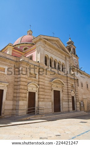 Church of St. Antonio. Fasano. Puglia. Italy.