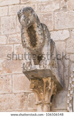 Church of St. Giacomo. Trani. Puglia. Italy. - stock photo