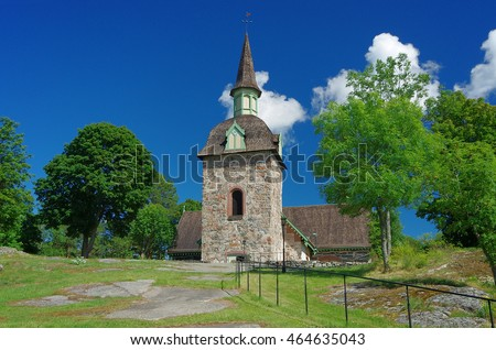 Church of St. Maria Magdalena, Aland Islands, Finland