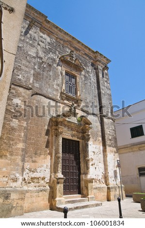Church of St. Nicola. Soleto. Puglia. Italy.