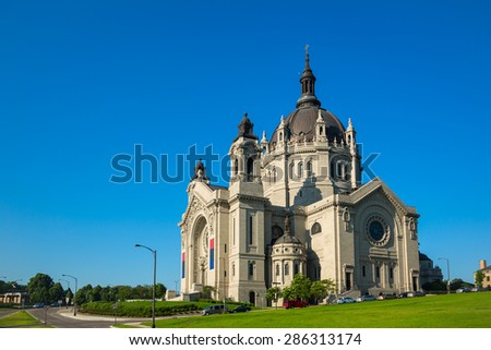 Church of St. Paul in Minnesota, USA - stock photo