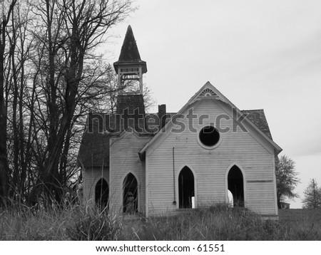 Church of the Open Windows - stock photo
