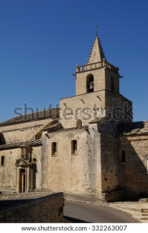 church of Venasque, Provenza, France