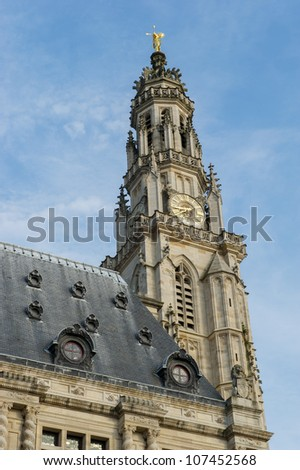 church Saint Vaast from the middle ages in French Arras