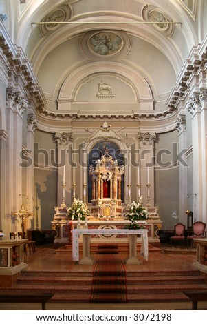 church San Zeno -lake Garda Italy