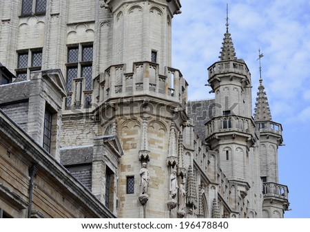 Church Spires - stock photo
