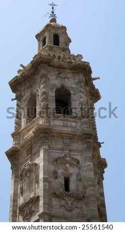 Church Top, Valencia - stock photo