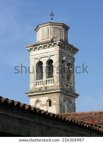 Church tower, Italy