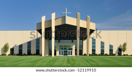 Modern Architecture Church Design modern church building stock images, royalty-free images & vectors