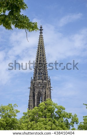 CHURCHES ,Chris Church in munster germany - stock photo