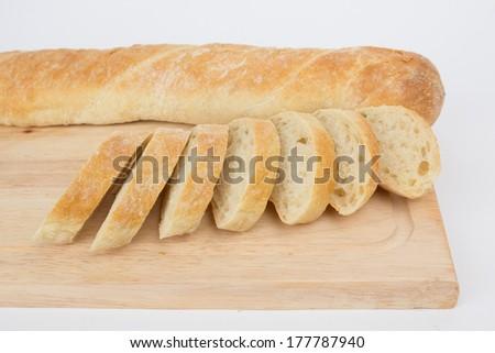 Ciabatta bread - stock photo