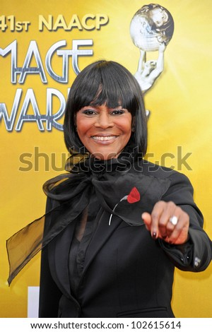 Cicely Tyson at the 41st NAACP Image Awards - Arrivals, Shrine Auditorium, Los Angeles, CA. 02-26-10