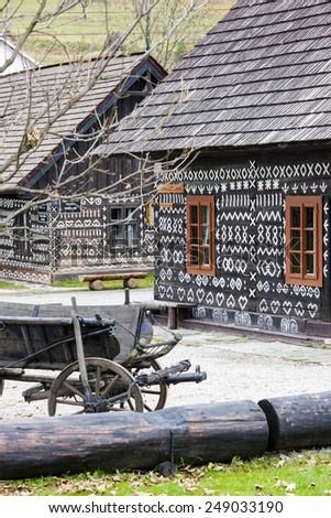 Cicmany, Slovakia - stock photo