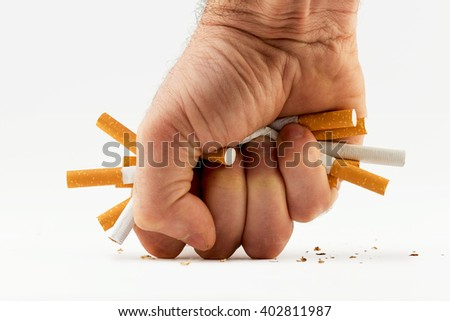cigarette fist