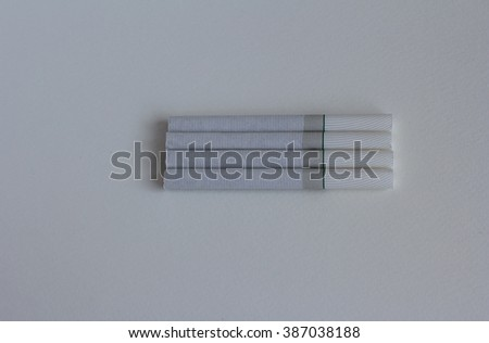 Cigarettes on table. - stock photo