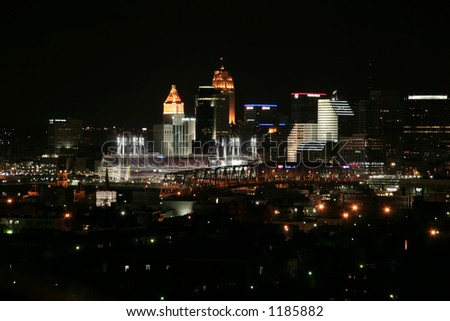 Cincinnati, Ohio (view from Newport, KY)