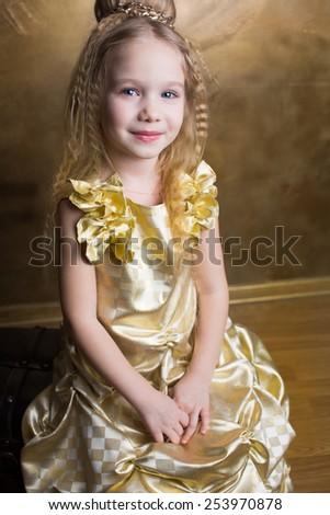 Cinderella child  - stock photo