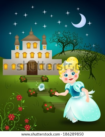 Stock Photos, Royalty-Free Images & Vectors - Shutterstock Cinderella Running Away From The Ball